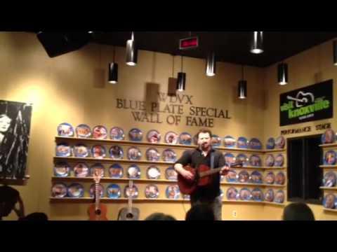 Scott McMahan @ WDVX Blue Plate special