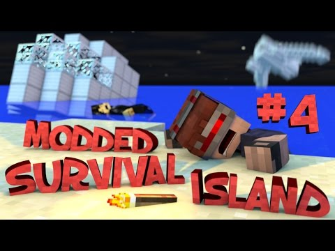 Survival Island Modded - Minecraft: Fighting The Horde Part 4