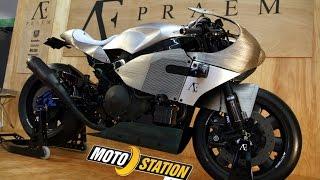 Praem AE SP3 : Haute couture moto à Paris !
