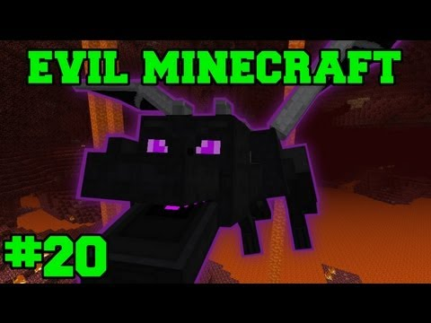 EVIL MINECRAFT! : HARDCORE ENDER DRAGON! - Episode 20 Let s Play (HARD MINECRAFT MODS) from YouTube · Duration:  24 minutes 38 seconds