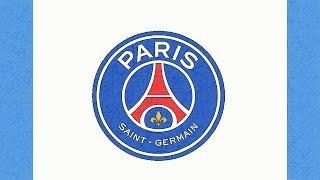 HOW TO DRAW THE PSG LOGO (PARIS SAINT-GERMAIN)