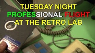 MARCO PLAYS - TUESDAY NIGHT FLIGHT WITH MICROSOFT FLIGHT SIMULATOR 2.12 [PC-DOS]