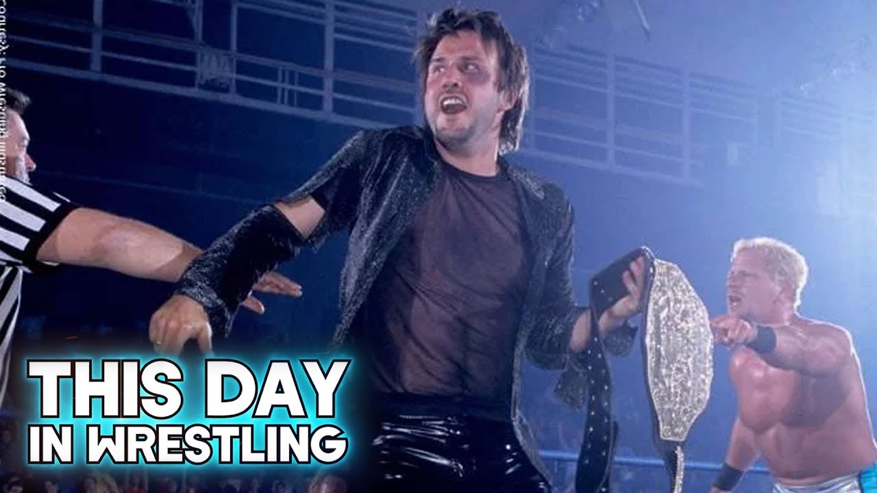 nowe wydanie buty jesienne podgląd This Day In Wrestling: David Arquette Wins WCW World Heavyweight  Championship (April 26th)