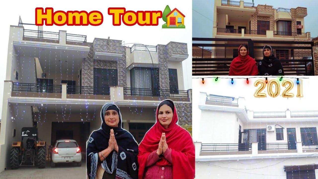 Download ll HOME TOUR 🥰🥰 II Finally Home Tour🏠ll Home Tour 2021 ll PUNJAB LIFE ll By navsukhman vlogs❤ll