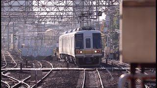 南海高野線・泉北高速鉄道 中百舌鳥駅を通過する電車達 2019