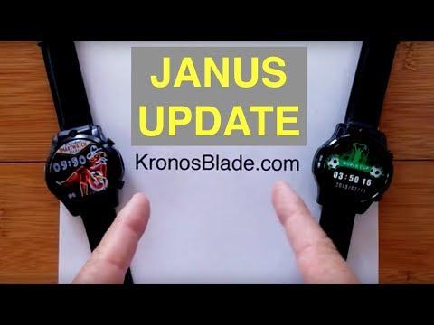 "KronosBlade ""Janus"" Dual 4G Smartwatch: Fitness/GPS Integration Update thumbnail"