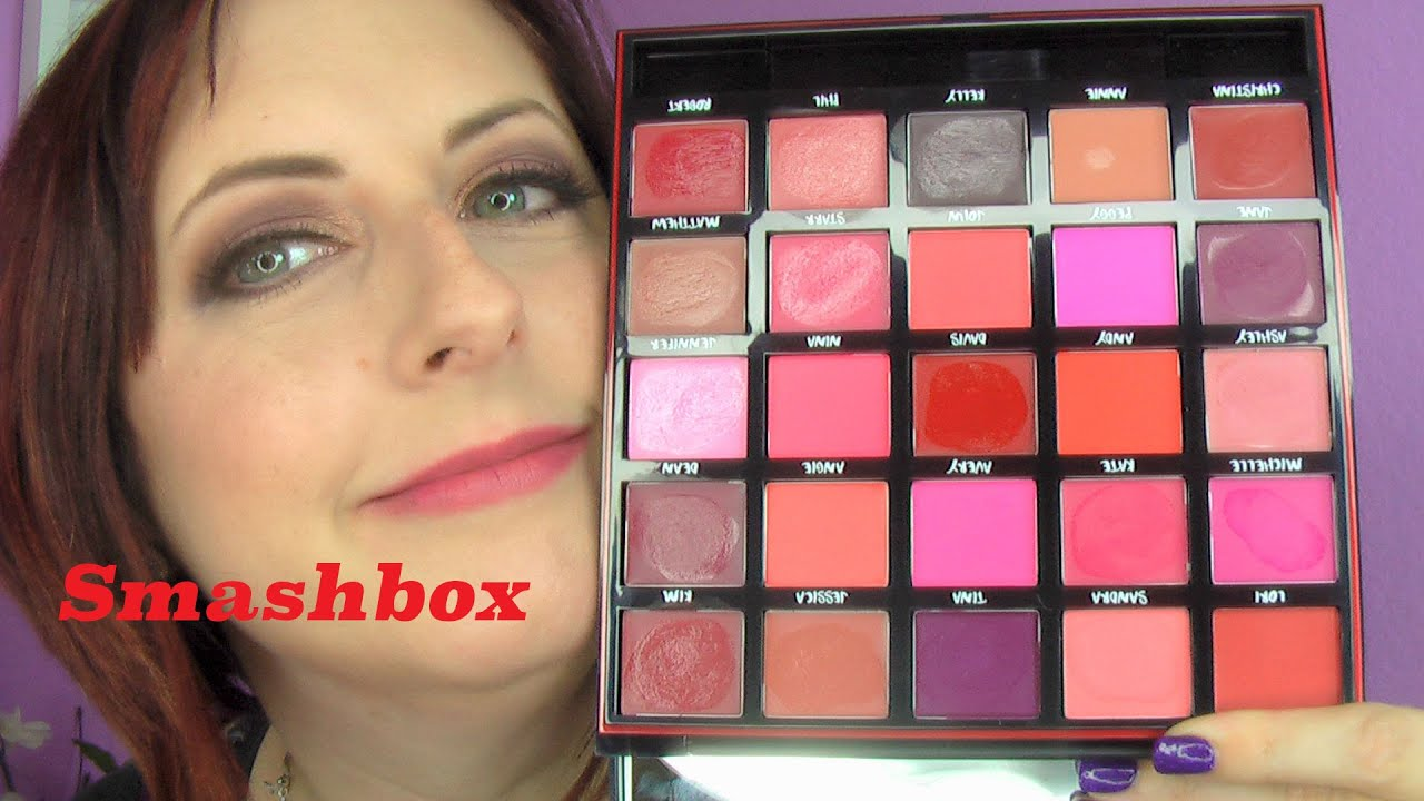 Smashbox Lipstick Palette Review The Art Of Beauty Be Legendary Matte Palettelimited Edition Huge Lip For 25 Years Our Lips Have Been Sealed