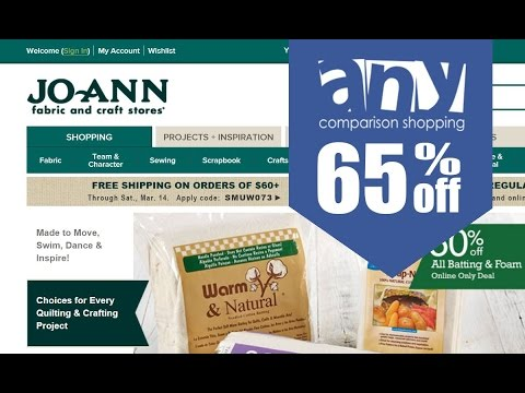 How to get & use coupons on Joann