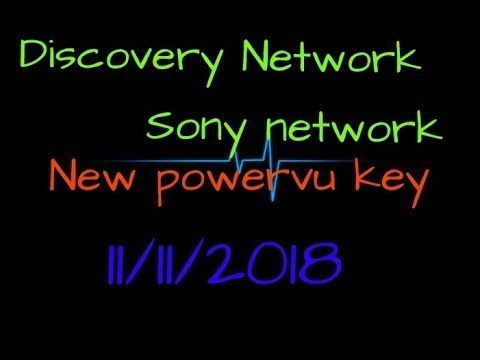 Discovery network /Sony network all powervu keys New updated 10/11/2018