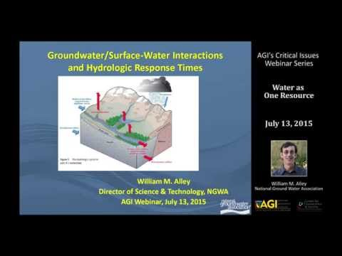 Critical Issues Webinar:  Water as One Resource