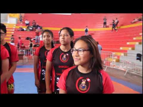 Inauguración Nacional De Cadetes De Lucha Olímpica (16 A 17 Años)