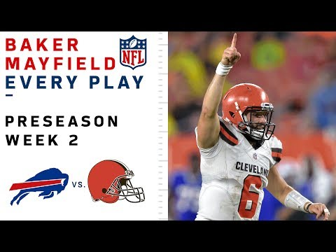 Every Baker Mayfield Play vs. Bills