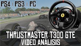 Thrustmaster T300 Ferrari GTE || Video análisis