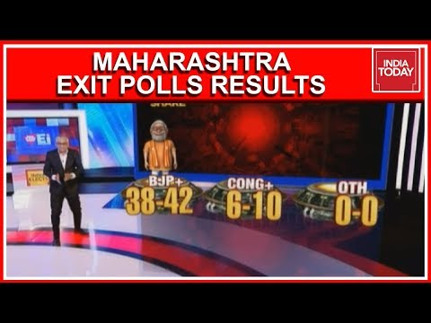 Maharashtra Exit Poll Results 2019   BJP- Shiv Sena Alliance Works Favourably