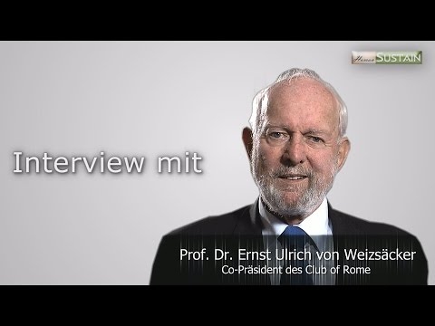 Interview Prof. Dr. Ernst Ulrich von Weizsäcker