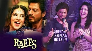 Shahrukh khan praises sunny leone for laila song - raees