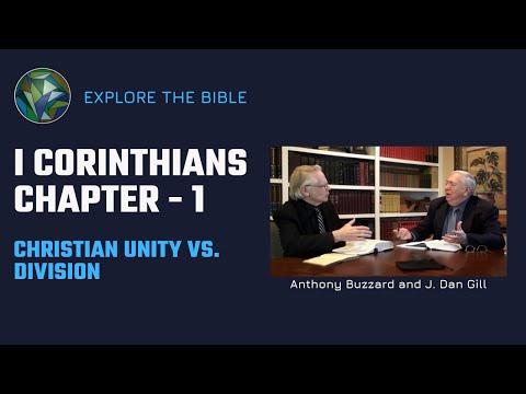 I Corinthians | Commentary | Anthony Buzzard & J. Dan Gill