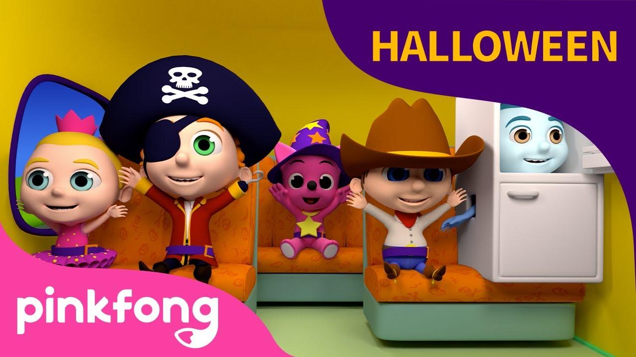 Las Ruedas del Bus | Halloween 👻  | +Recopilación | Pinkfong Canciones Infantiles