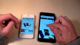 Сравнение iPhone 4S VS Prestigio Muze C3