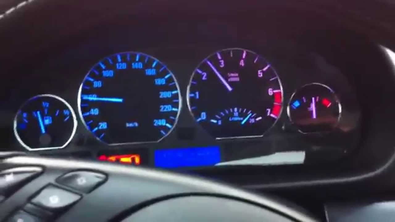 BMW 325i Modified Dashboard - YouTube