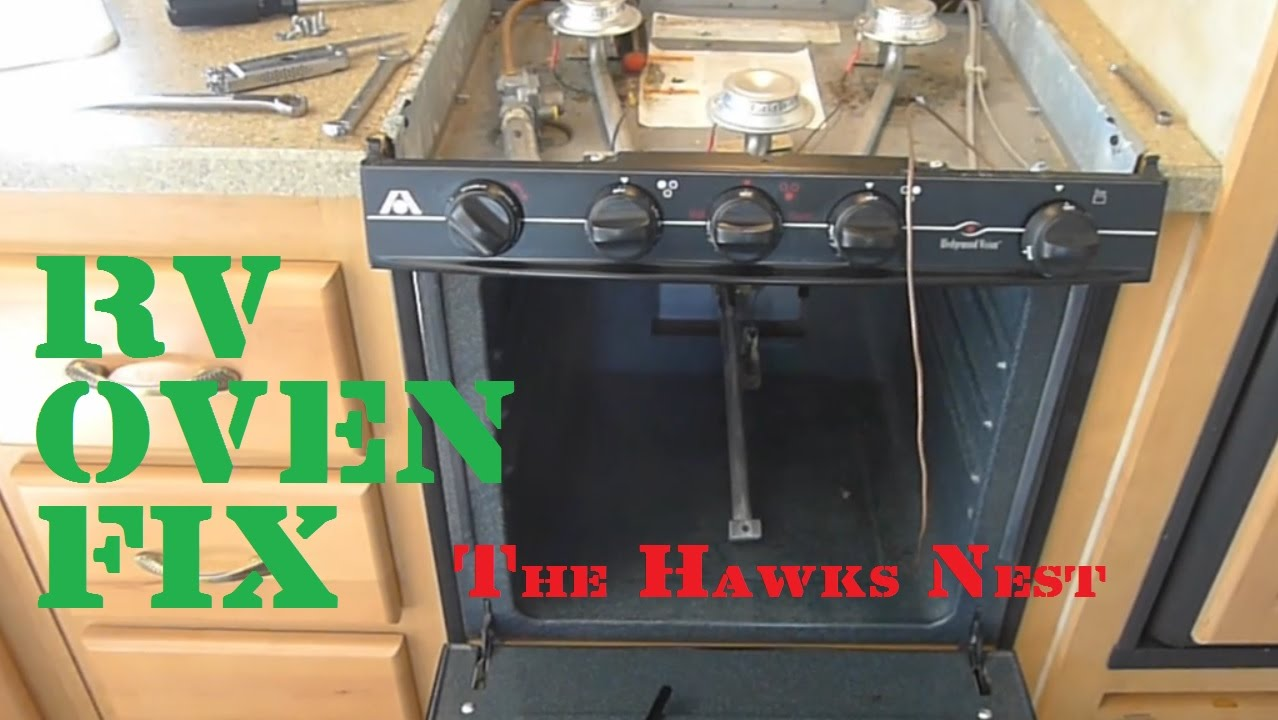 Project Rv Oven Fix Youtube