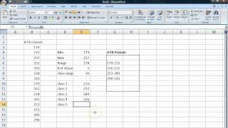 Basic Statistics Tutorial 7 Frequency Tables From Raw Data