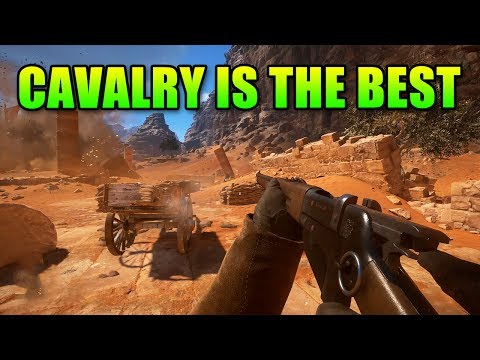 Cavlary Class Wrecks On Foot - Battlefield 1 Operations Gameplay