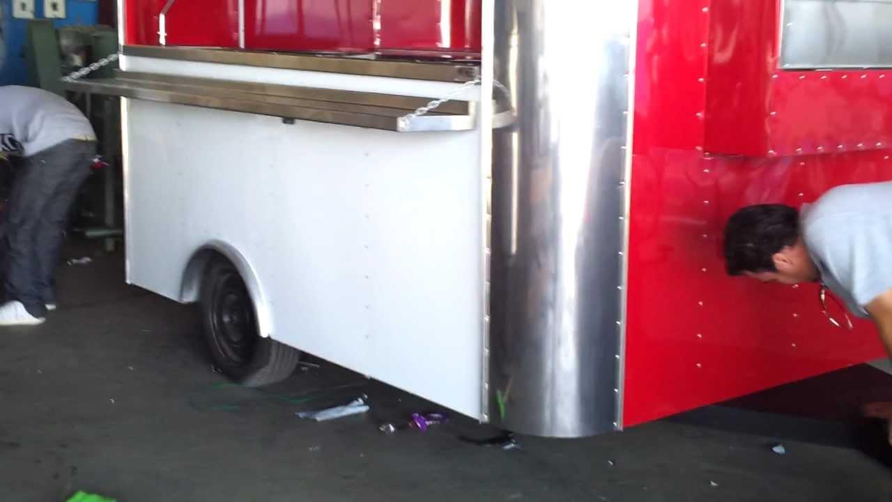 Trailas De Venta >> remolque o puesto para venta de alimentos - YouTube