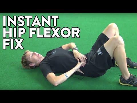 Hockey Training: Instant Hip Flexor Fix