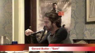 Gerard Butler talks Machine Gun Preacher
