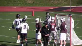 2016 Landon vs Mt. St. Joseph Lacrosse Highlights