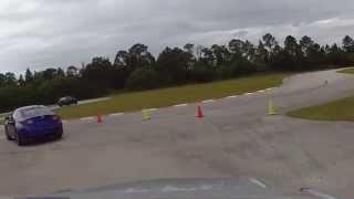 Lexus rc f Test Drive on Track