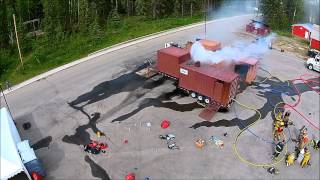 Alberta Fire Chiefs Pre-conference - Live Fire Training - Entrec Centre - Evergreen Park
