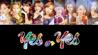 YES or YES 日本語訳