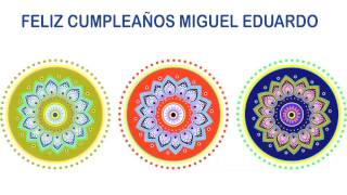 MiguelEduardo   Indian Designs - Happy Birthday