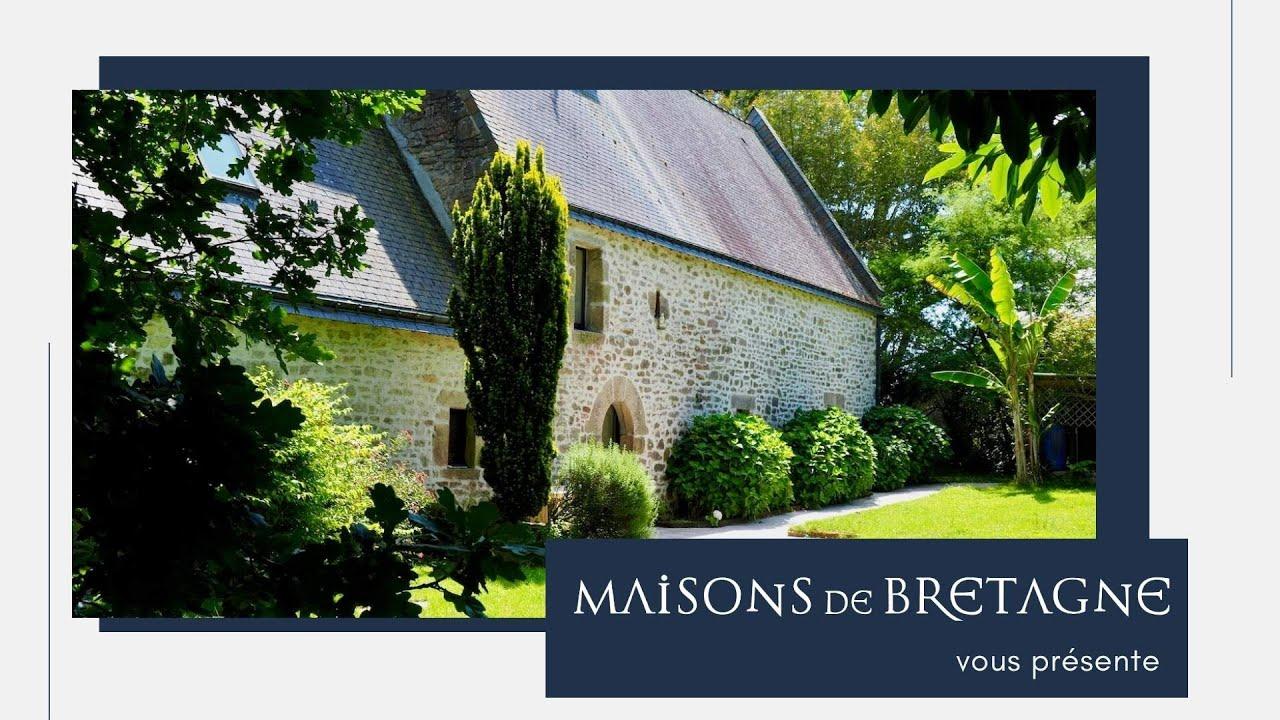 À vendre Maison de caractère à la campagne à Languidic, entre Lorient et Auray |Morbihan Bretagnesud