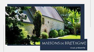 Maison de caractère de 200 m2 et sa dépendance à vendre à Languidic entre Lorient et Auray