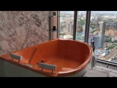 Апартаменты с джакузи в Москва Сити за 18.000р. в сутки на 64 этаже