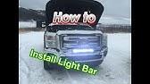 2011 Ford Super Duty Upfitter Switch Wiring Youtube