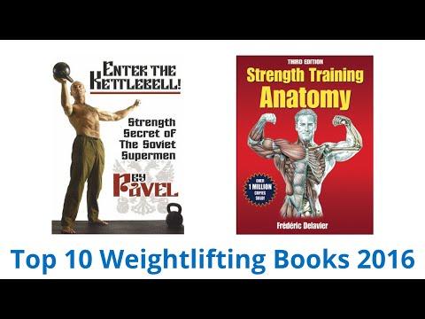 10 Best Weightlifting Books 2016