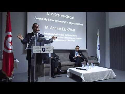 Conférence Débat de M. Ahmed ALKARAM au campus de l'Université Européenne de Tunis-partie 1