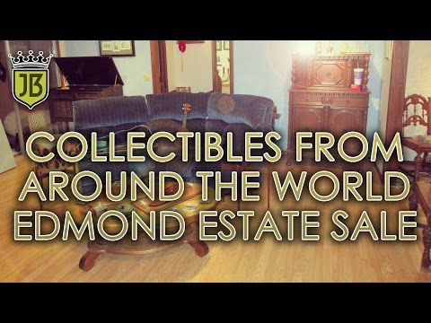 Collectibles from Around the World Edmond Estate Sale by James Bean Estate Sales