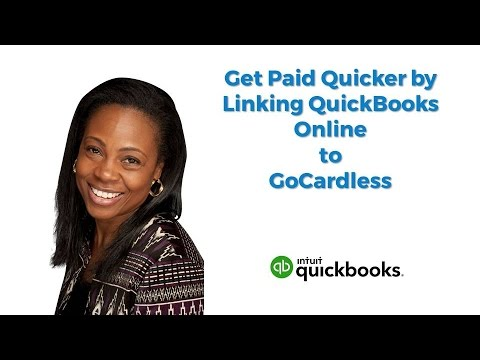 QuickBooks Online Tutorial – Get Paid Quicker by Linking QBO to GoCardless