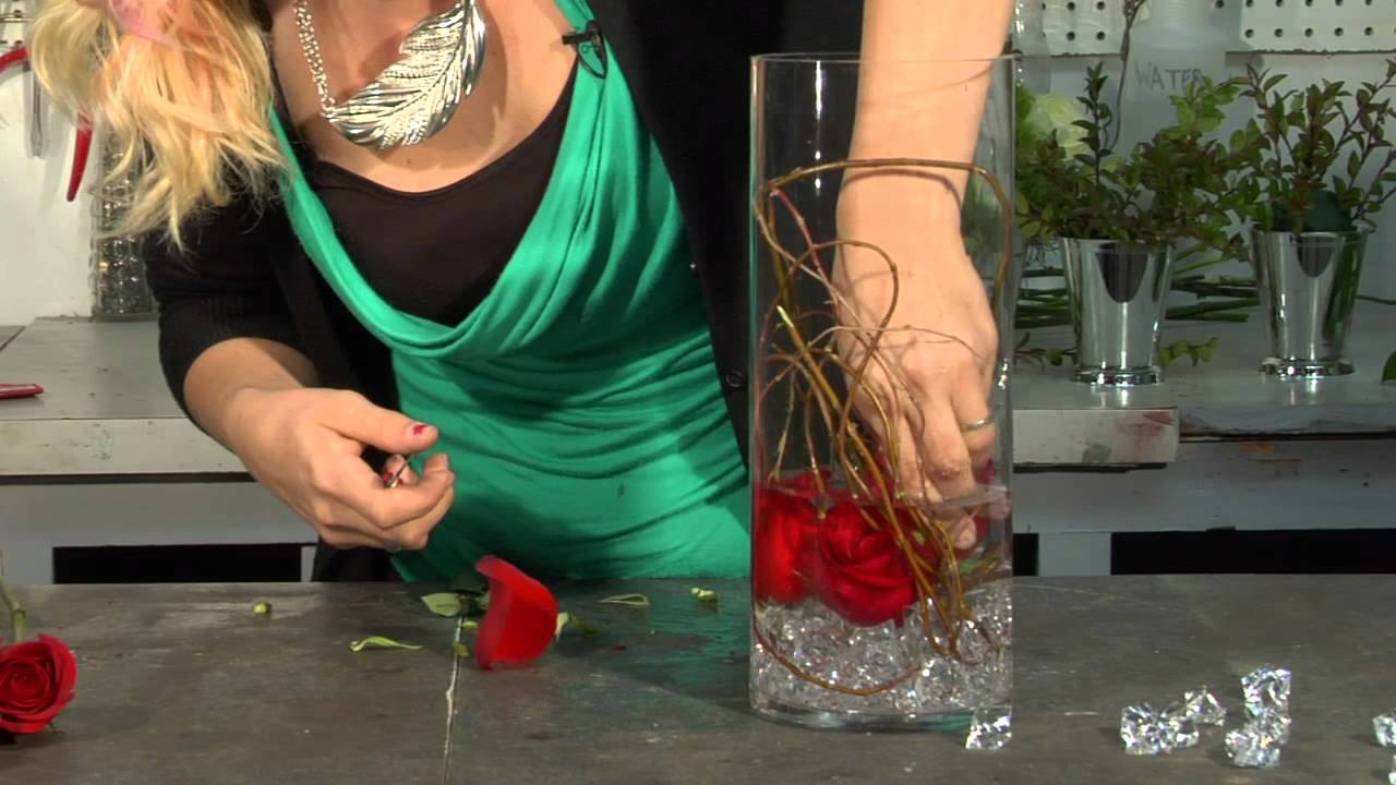 How To Make An Underwater Rose In A Vase Floral Tips