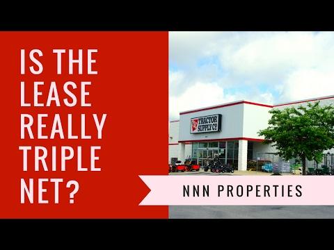 NNN Properties - Is the lease really a NNN lease?