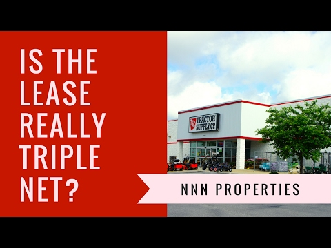 NNN Properties - Is the lease really a NNN lease?