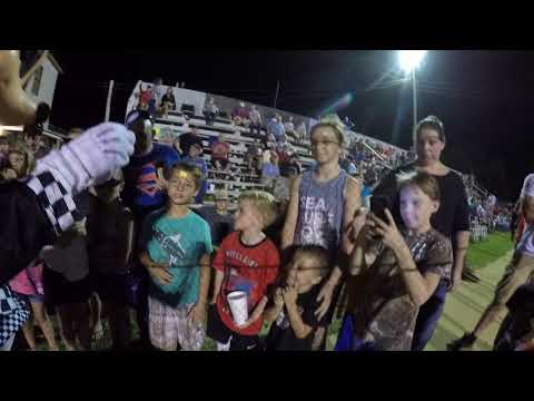 """Speedway Mickey"" Doing a Magic / Juggling show at Northwest Florida Speedway"