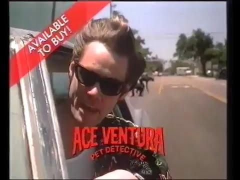 Ace Ventura Pet Detective Trailer 1994 (Warner)