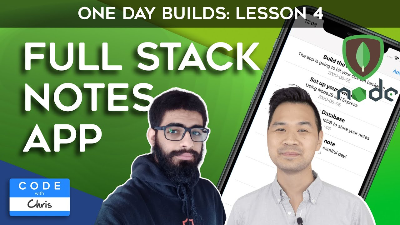 Full Stack iOS Notes App - Custom Cell and Code Organization (Lesson 4)