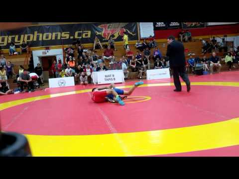 2015 Canada Cup: 57 kg Final John Pineda (CAN) vs. Dylan Bray (CAN)